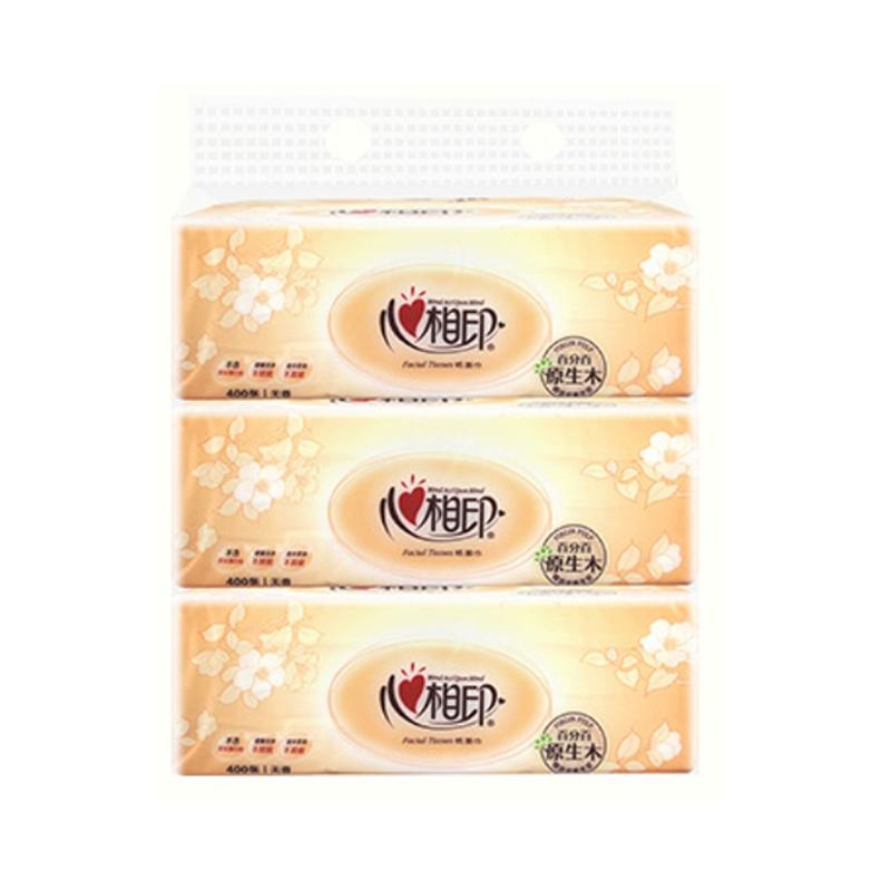 心相印面巾纸大抽抽纸(DT200)3包1提装
