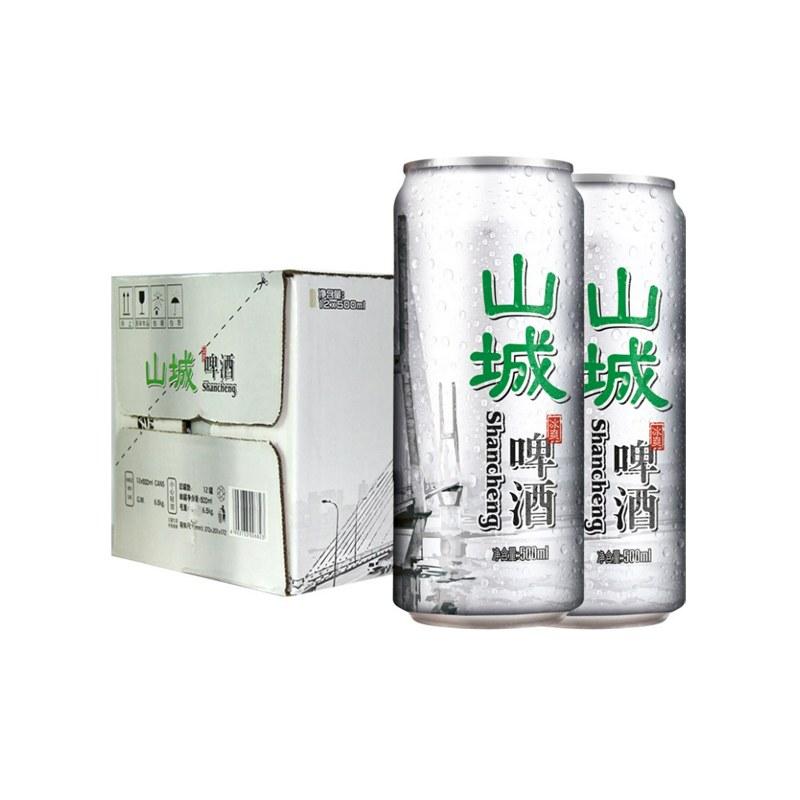 山城啤酒厅装500ml12罐1件装